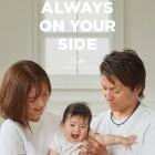 家族写真でデザインフォト